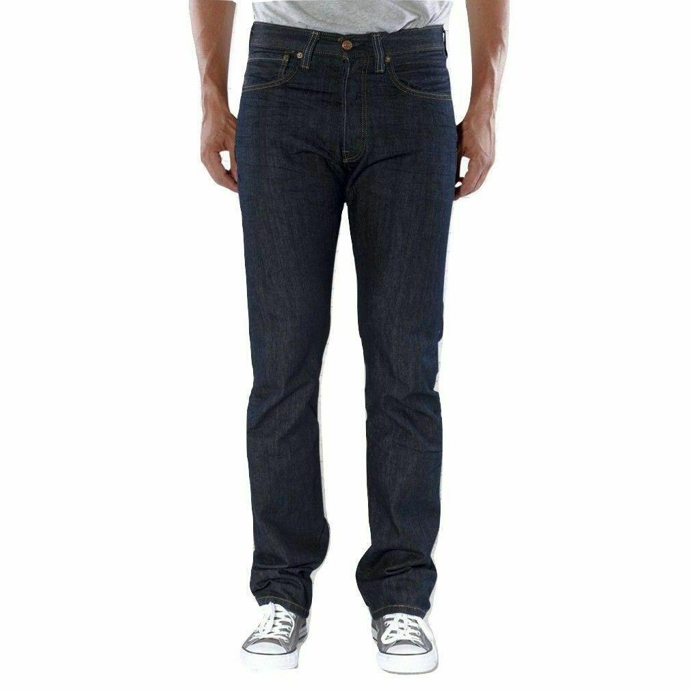 Levi's Men's Original Fit Straight Leg Jeans Button Fly Dimensional 501-0444