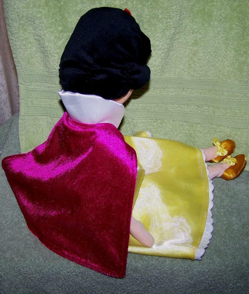 """Disney Store Snow White & the Seven Dwarfs SNOW WHITE 20""""H Plush Doll NWT"""