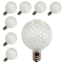 [ 25 Pack ] LED G40 Globe Replacement Bulbs for Patio Outdoor String Lig... - $26.39