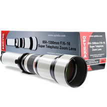 Opteka 650-1300mm Telephoto Lens for Sony Alpha a200 a300 a350 a230 a330 a380 - $179.95