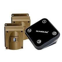 Guardline Wireless Driveway Alarm w/Two Sensors Kit Outdoor Weather Resi... - $192.43