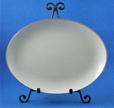 """Vintage Pickard 1965 DAMASK 12 1/2"""" x 9 1/2"""" Oval Serving Platter - $37.36"""