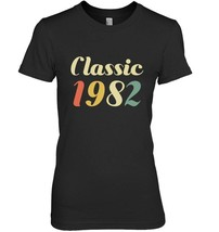 Classic Born In 1982 Gift Shirt  36 Year Old Birthday Gift - $19.99+