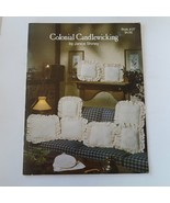 Colonial Candlewicking by Janice Shirley Book #27 - $13.57