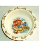 Royal Doulton Childs Bunnykins Dish Sailor Bunnies on Raft - $14.35