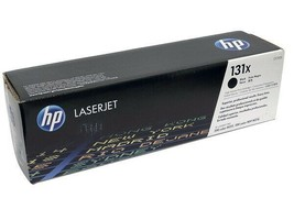 HP CF210X (131X) Black Toner Cartridge - High Yield - $78.21