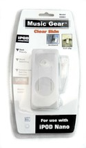 iPod Nano 1st Generation Clear Silicone Skin Case Armband Belt Clip Incl... - $5.93