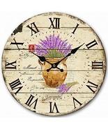 HQF Large Wall Clock, Eruner Living Room Clock for Wall Decorative Woode... - $26.05