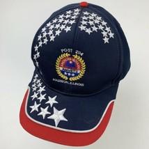 Post 204 Madison Illinois Veterans Amvets Adjustable Adult Ball Cap Hat - $12.86