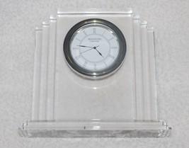 Waterford Crystal Desk Mantel Clock Germany - $46.74