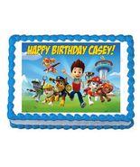 Paw Patrol Edible Cake Image Cake Topper - $8.98+