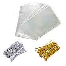 400 PCS 4X6 Inch Cellophane Treat Bags Christmas Gift Bag Clear Cello Tr... - $16.47
