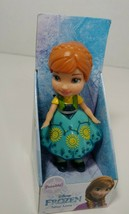 Disney Frozen Mini young toddler Anna pose-able doll figure New - $9.89