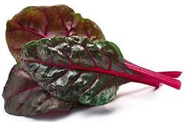 Sow No GMO Swiss Chard Ruby Red Leafy Greens with Vivid Red Stems Non GMO Heirlo - $2.94