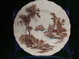 "Vintage Johnson Bros. ""The Old Mill"" Dinner Plates - $45.00"