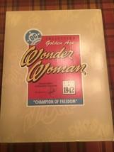 """Hallmark Golden Age Wonder Woman Figurine DC 1996 – """"Champion Of Freedom"""" #2 - $51.43"""