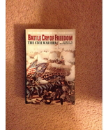 James M. McPherson – Battle Cry of Freedom – hard cover – 1988 - $19.99