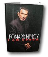 SIGNED Leonard Nimoy I Am Spock Star Trek TV Series Memoir 1st Print HC ... - $395.01