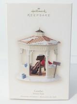 "Hallmark Keepsake Christmas Ornament ""Gazebo Winter Park"" 2007 MIB A Rea... - $9.94"