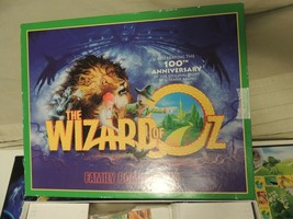 Wizard Of Oz Family Board game Rare Mad Hatters Vintage 100th Anniversary - $22.63