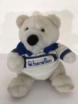 Benetton Bear Plush 1985 Rare Commonwealth Toy & Novelty Company 80's Vi... - $73.15