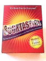 Booktastic First Board Game for Book Lovers Fiction Edition Synsia 2004 - $24.74