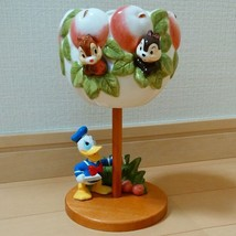 Tokyo Disney Land Donald Chip and Dale Flower Pot Accessory Case Ornament - $96.03