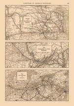 Chicago, Chesapeake, Erie, Ohio - Railroad - Reynold 1921 - 23 x 32.84 - $36.58+