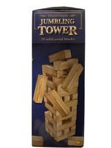 Traditions Jumbling Tower 39 Solid Wood Blocks 1 Set (10321201) Cardinal... - $6.57