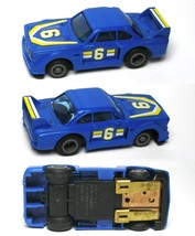 1980 Ideal TCR BMW 328ish RARE Blue & Yellow #6 Slot Car MK3 Chassis Very Rare! - $44.54