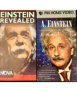 Albert Einstein VHS Lot of 2 How I See the World Einstein Revealed Nova PBS - $12.79