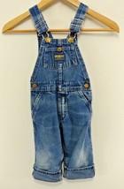 Vintage Oshkosh Baby B'Gosh Denim Overalls Toddler Vestbak Jumper Pants Pockets  - $33.66