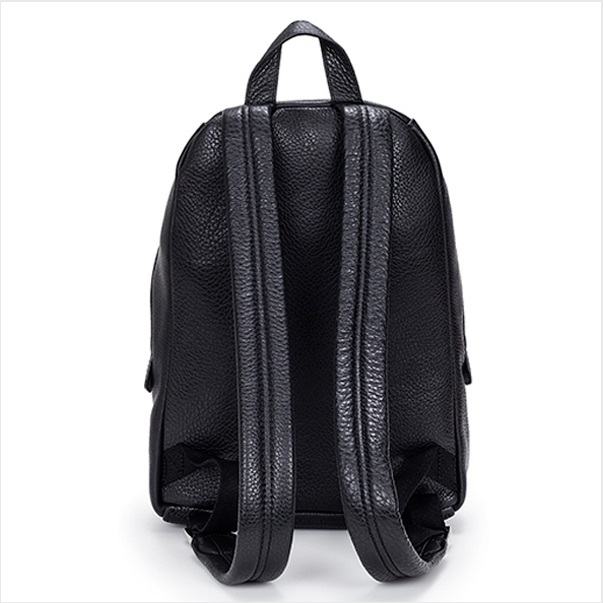 Marc by Marc Jacobs M0005483001 - Domo Biker Black Leather Backpack