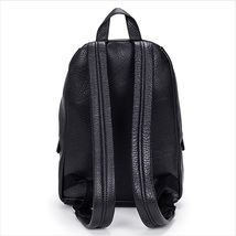 Marc by Marc Jacobs M0005483001 - Domo Biker Black Leather Backpack  - $829.99