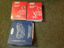 2003 FORD TRUCK Excursion F-250 350 450 550 Service Shop Repair Manual W... - $395.99