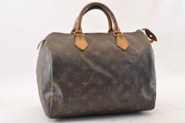 Louis Vuitton Monogram Speedy 30 Hand Bag M41526 Lv Auth sa1256 - $298.00