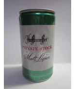 HAFFENREFFER PRIVATE STOCK MALT LIQUOR 12 OUNCE FLIP TOP BEER CAN - $7.95