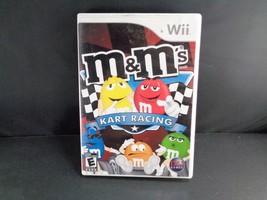 M&M's Kart Racing (Nintendo Wii, 2007) Complete - $3.95