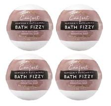 4 Bath & Body Works Aromatherapy Comfort Vanilla & Patchouli Fizzy 4.6 o... - $36.99