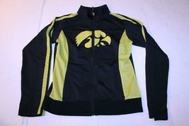Women's Iowa Hawkeyes Ladies M Polyester Jacket (Black) Authentic - $18.69