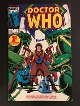 Doctor Who #1 Marvel Comics 1984 VF 8.0 - $15.00