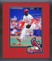 Lee Smith St. Louis Cardinals Circa 1992-11x14 Team Logo Matted/Framed P... - $43.55