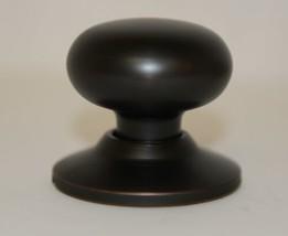 Better Home Products 92311DB Mushroom Knob Dummy Dark Bronze image 2