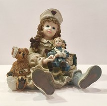 Boyds Dollstone Collection (Yesterday's Child) Katherine with Amanda & E... - $9.95