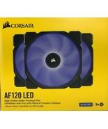 Corsair - AF120 - Blue LED High Airflow Static Pressure Fan 120mm - Pack... - $54.40
