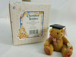 """Graduation Girl """"The Best is Yet to Come"""" 127957 Cherished Teddies  AIE84 - $4.95"""