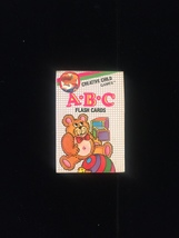 Vintage 80s Creative Child Games card game: ABC FLASHCARDS