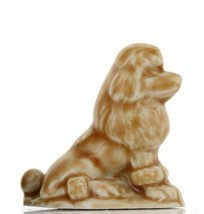 Tom Smith Animates Porcelain Miniature by Wade World of Dogs Apricot Poodle