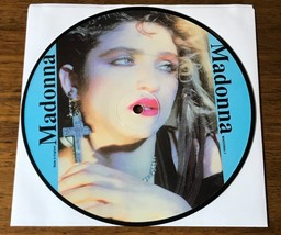 MADONNA 7- INCH PICTURE DISC ~ MADE IN ENGLAND - $147.51