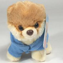 GUND Boo Mini Brown Plush Pomeranian Dog with Bathrobe - $18.56